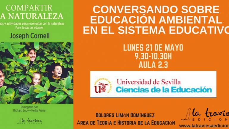 Conversando sobre educación ambiental en el sistema educativo