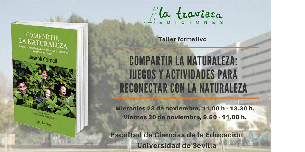 Taller Formativo Compartir la Naturaleza, Universidad de Sevilla