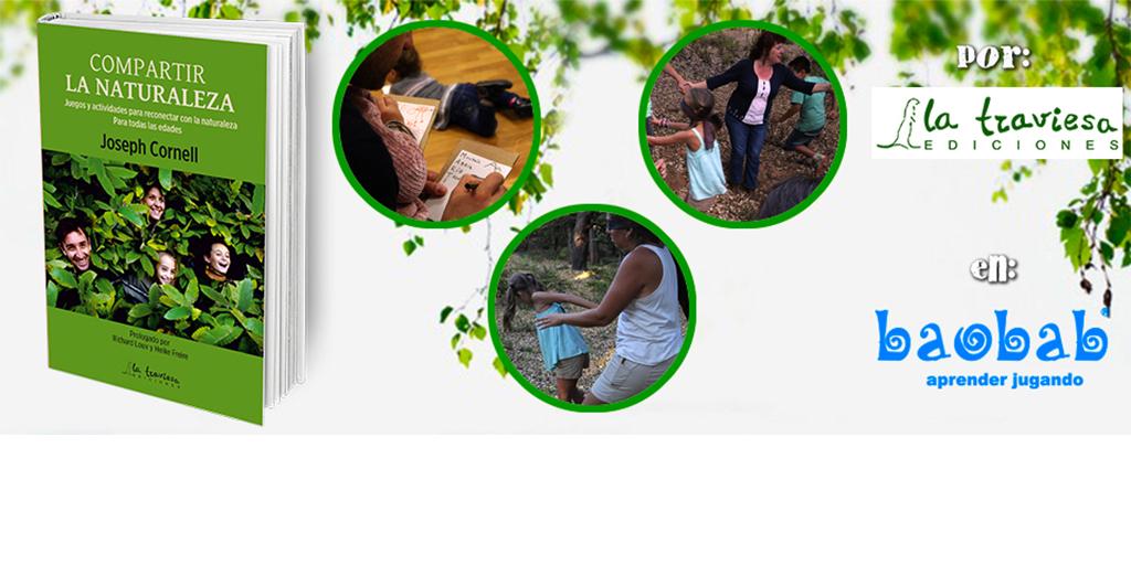 Taller Compartir La Naturaleza en Librería-Juguetería Baobab-Aljarafe