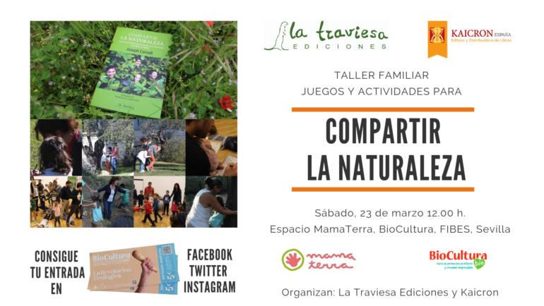 Biocultura Sevilla: Compartir la Naturaleza en Familia en el espacio MamaTerra