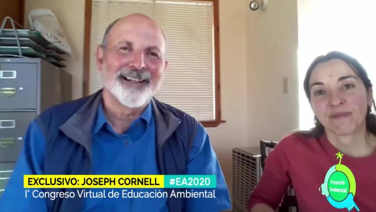 Conferencia de Joseph Bharat Cornell, referente en Educación Ambiental en la Naturaleza (traducida al castellano en directo)
