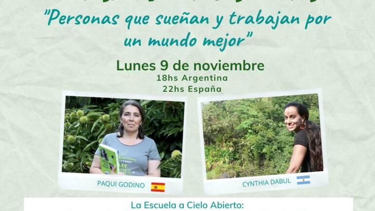 Historias transformadoras, encuentro con Proyecto Ambiental