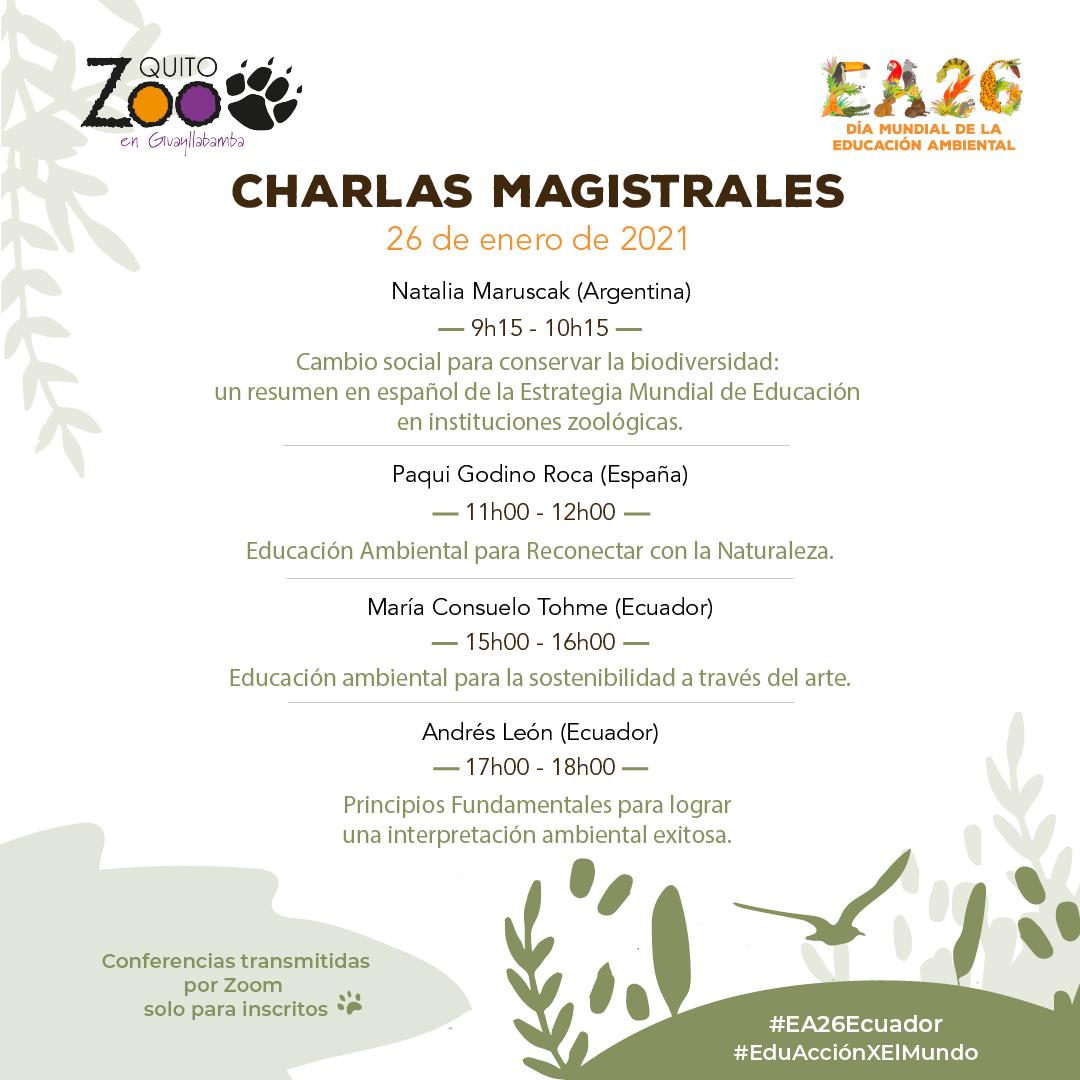 Encuentro:  Día Mundial de la Educación Ambiental #EA26Ecuador